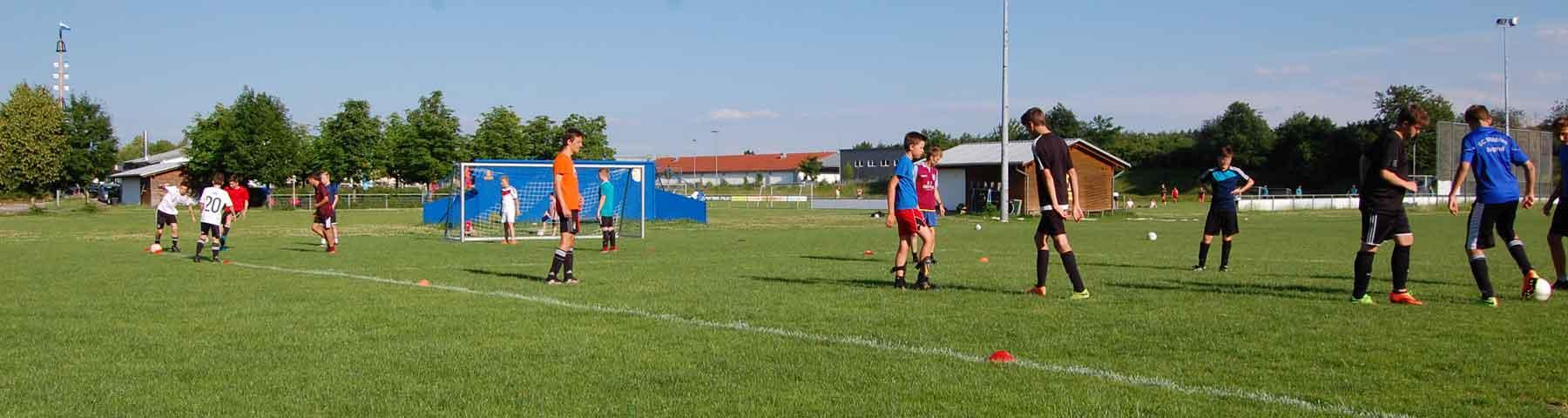 Fussballplatz in Mühlried