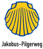 Wegkennzeichnung Jakobus-Pilgerweg