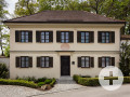 Blick auf das Lenbachmuseum