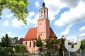 Blick auf die Vorstadtkirche Sankt Salvator