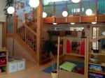 EIn Gruppenraum der Kindertagesstätte Taka-Tuka-Land in Steingriff