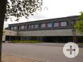 Eingang der Michael-Sommer-Mittelschule Schrobenhausen