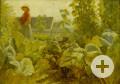 Johann Baptist Hofner: Karoline im Krautgarten