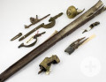 Waffenteile von der Lady Burgess und Hartwell, Ende 18. Jh.
