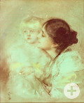 Eleonore Duse und Marion Lenbach