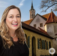 Stadtführerin Daniela Spreng