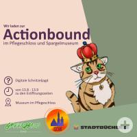 Actionbound-Ralley im Pflegschloss-Museum