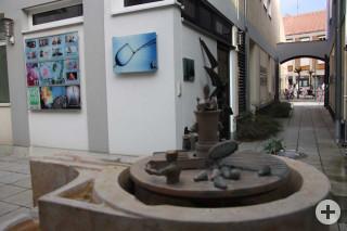 Brunnen im Kunsthof